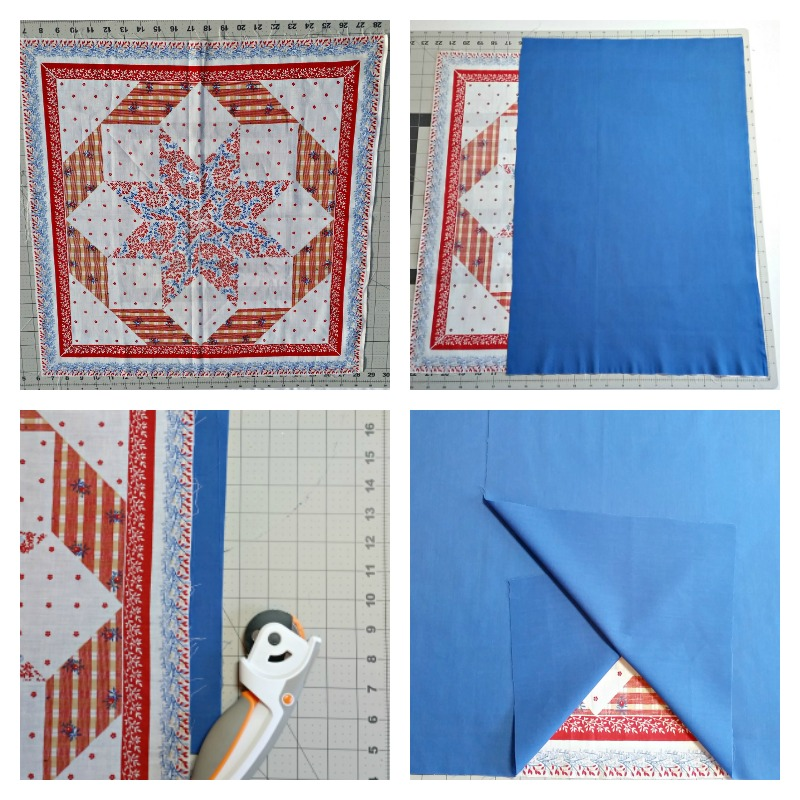 How to make a pocket pillow cover
