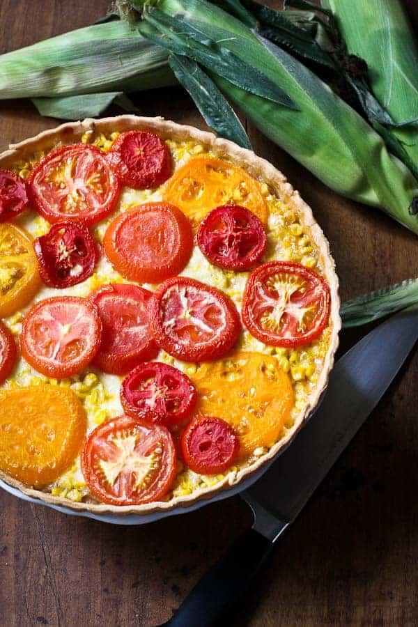 tomato-corn-tart