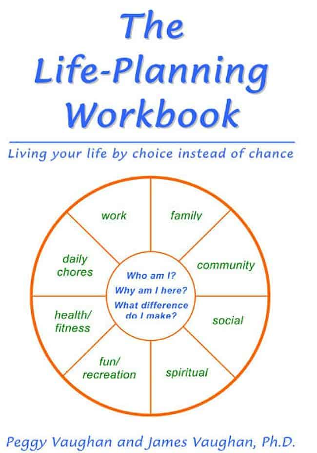 The life-planning process prepares you to deal effectively with the constant change that comes to all of us. It includes a set of time-tested tools that you can use to stay on track and to change course when needed.  It doesn't tell you what to do; rather, it taps into your inner wisdom and helps you organize what you've learned, what you value and what you want to do with the rest of your life