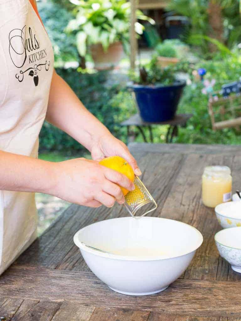 Making Biscotti Italian Style Recipe  Adding Orange