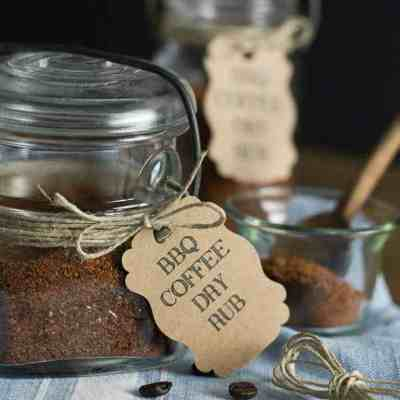 BBQ Coffee Dry Rub is the perfect rub for kicking up your chicken, beef or pork. It infuses your taste buds with a sweet slightly nutty flavor and can be kicked up with some heat if you double up on the cayenne pepper