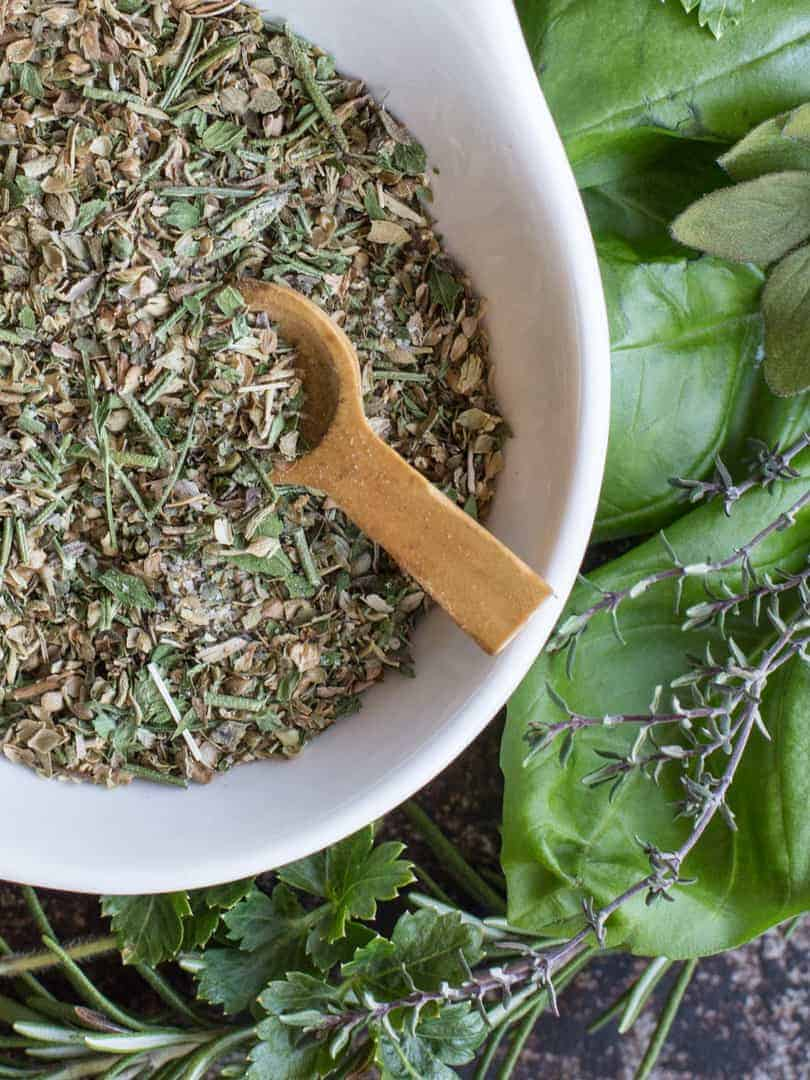 Creating your own delicious Italian seasoning and dressing at home is easy and quick with my recipe for  Homemade Zesty Italian Seasoning and Dressing Mix.