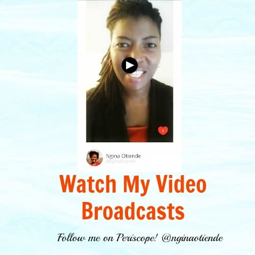 Watch my video broadcasts