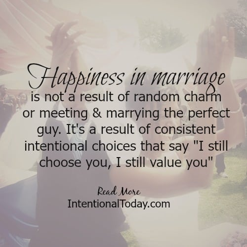 5 ways to make a delightful marriage intentional today