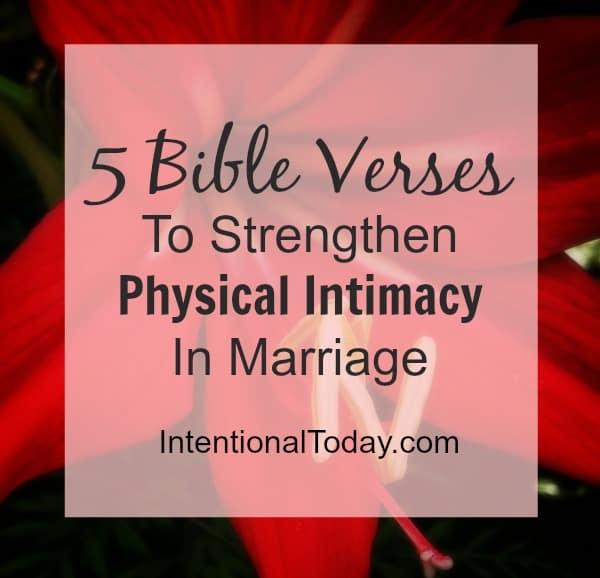 5 Bible verses to strengthen your sex life