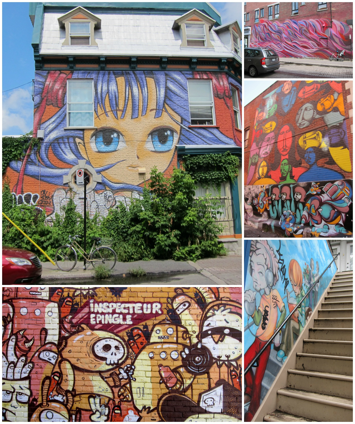 Montreal how i love thee intentional travelers for Art mural montreal