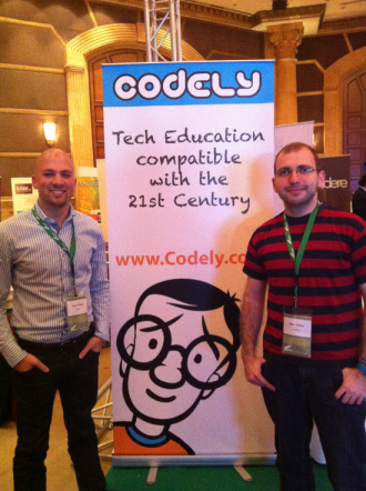The guys from codely Fouad Jeryes and Sinan Taifour