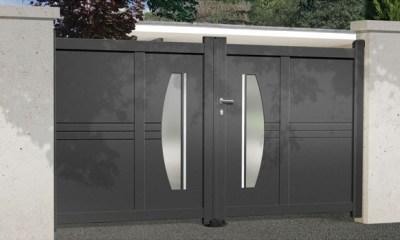 Portail Aluminum | Gamme Design
