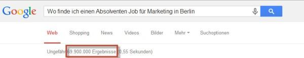 Darstellung der Semantischen Suche / Hummingbird verändert das Recruiting