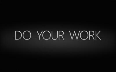InterfaceLIFT Wallpaper: Do Your Work