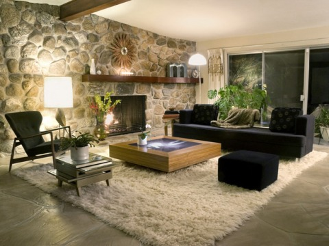 how to decorate a big living room