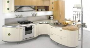 Modern Curved Kitchen Design Ideas