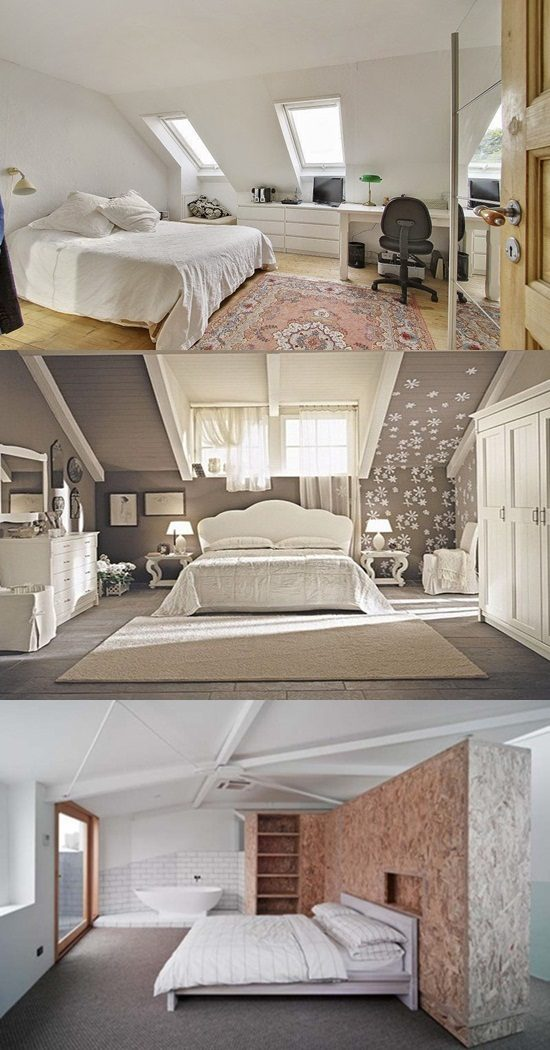 the luxurious extra bedroom in the loft interior design