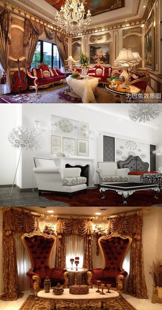 Baroque Living Room Ideas Interior Design
