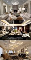 A living room...or better...a luxurious living room!!