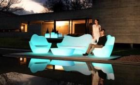 Illuminated Furniture Pieces - Color and Design