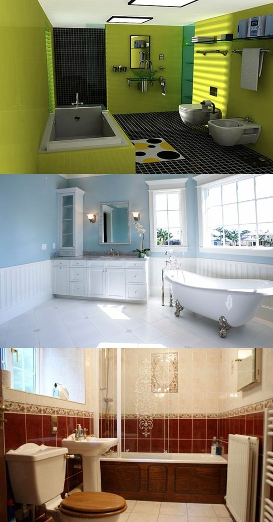 Bathroom Color Designs Interior Design