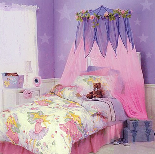 How To Decorate An Attractive Little Girl Bedroom With A Fairy Tale Theme Interior Design