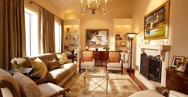Creative Ideas to Create Transitional Dining and Living rooms by Joanne Jakab