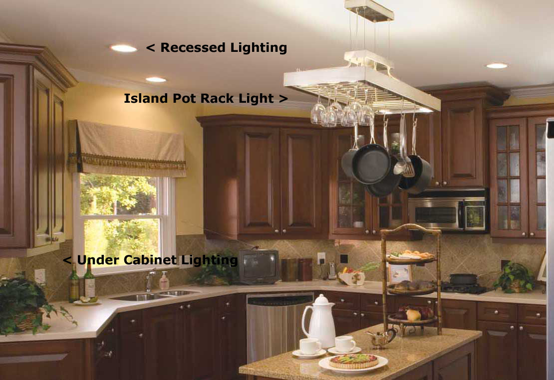 recessed lighting recessed lighting in kitchen Image
