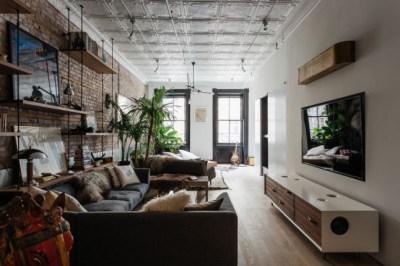Apartamento de soltero…fuera reglas!! – Interiores Chic | Blog de decoración nórdica