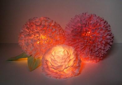 Ліхтарики з паперу і лампи