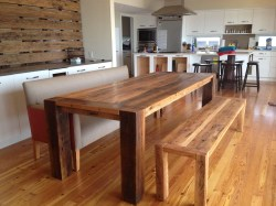 Small Of Reclaimed Wood Dining Table