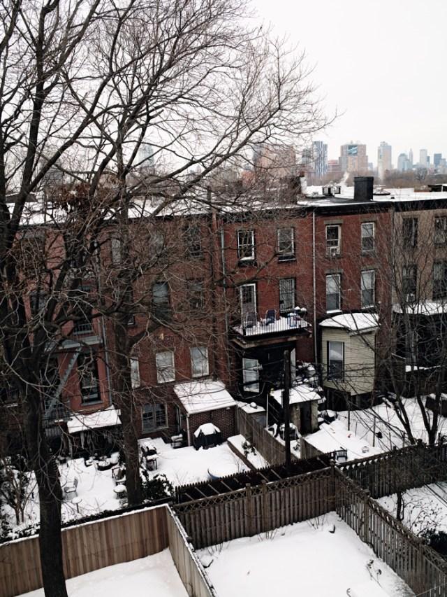 Vista exterior aérea de la vivienda que mostramos hoy.