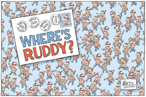 Where's ruddy