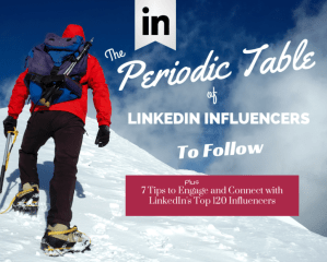 LinkedIn INfluencers to Follow international business