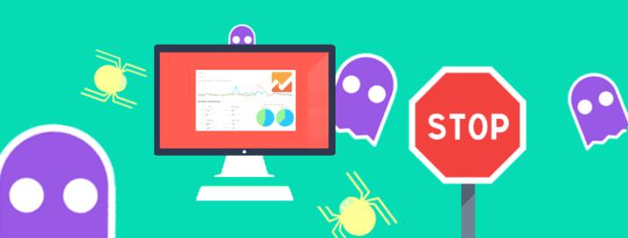 Identifique y elimine el tráfico spam de su sitio web