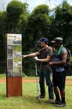 Kokoda Track War History Signage