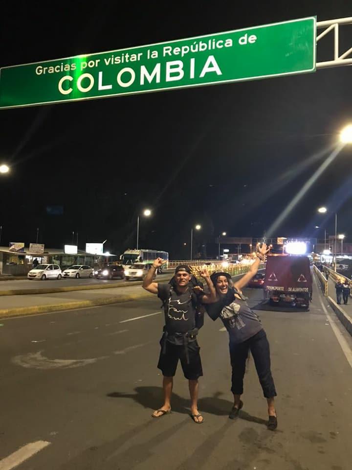 Kolombiya'dan Ekvatora karayolu gecisi