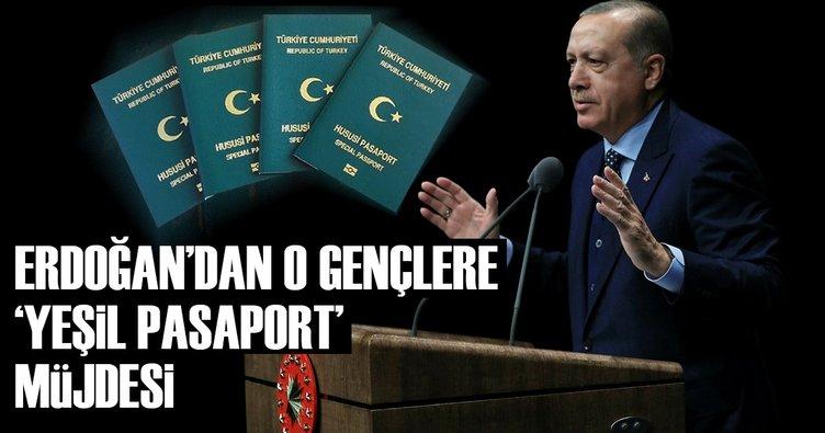 yeşil pasaport müjdesi