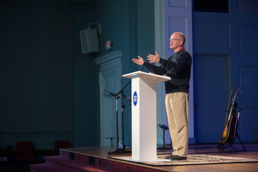 "Danny Akin: ""We Walk Under the Banner of a Cross"""