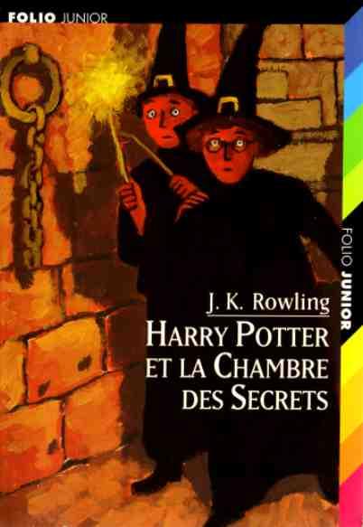 Harry Potter et la chambre des secrets (J.K. Rowling)