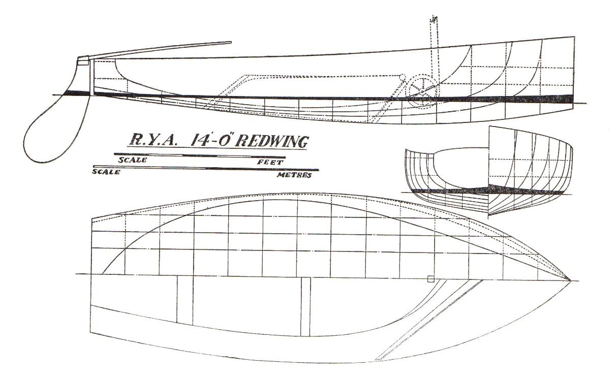 The Redwing sailing dinghy explained | intheboatshed.net