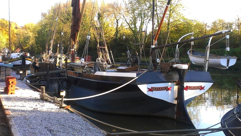 Boats on the Medway at Allington 3