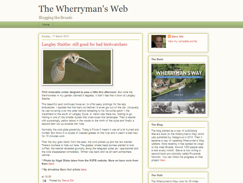 The Wherryman's Web