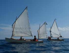 Ella skiff and Light Trow Onwind Blue