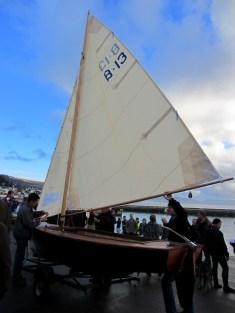 Herreshoff Biscayne Bay sailing skiff Becky Joseph Dec 13 (50)