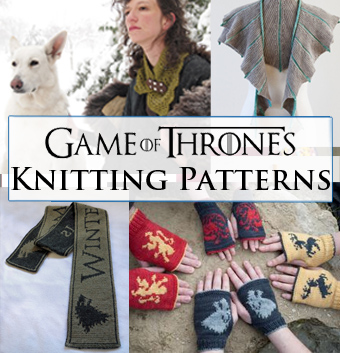Free Crochet Pattern Game Of Thrones : Game of Thrones Knitting Patterns In the Loop Knitting