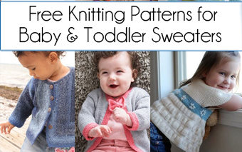 Free Baby and Toddler Sweater Knitting Patterns