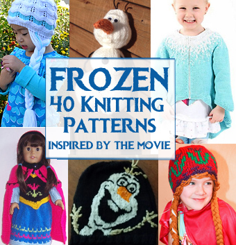 Knitting Patterns For Children s Tv Characters : Frozen Knitting Patterns In the Loop Knitting