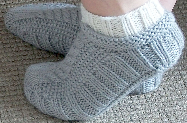 Men S Bed Socks Knitting Pattern: Knitting accessories ribbed toe up ...