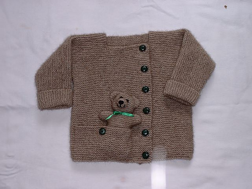 Free Knitting Pattern For Teddy Bear Sweater : Teddy Bear Knitting Patterns In the Loop Knitting