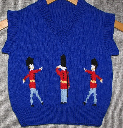 Knitting Patterns Free Childrens Vests : Vests for Babies and Children Knitting Patterns In the ...