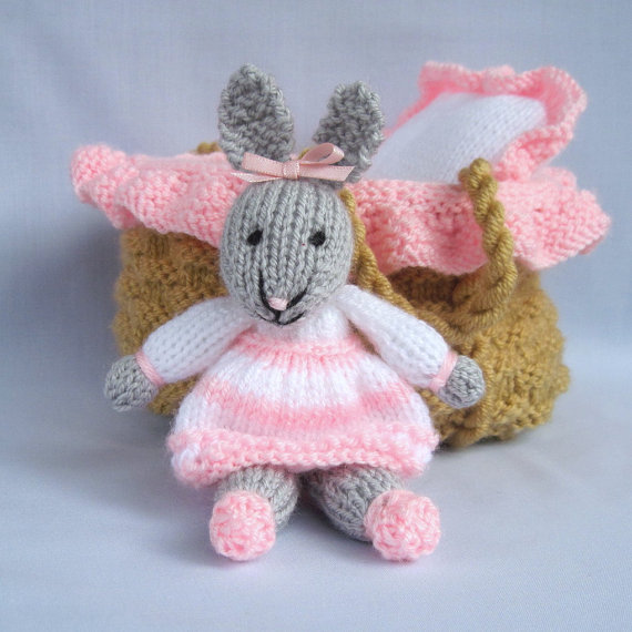 Bunny Rabbit Knitting Patterns In the Loop Knitting