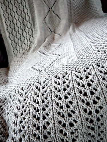 Lace Blanket Shawl