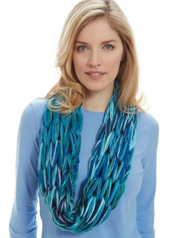 Arm Knit I-Cord Cowl free knitting pattern and more free cowl knitting patterns at http://intheloopknitting.com/cowl-knitting-patterns/